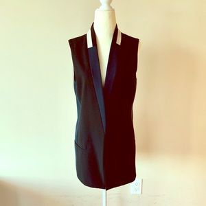 ANTHROPOLOGIE ELEVENSES Vest Jacket